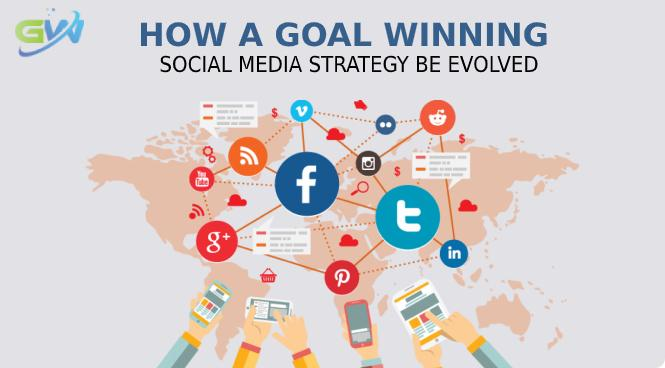 How a goal winning social media strategy be evolved