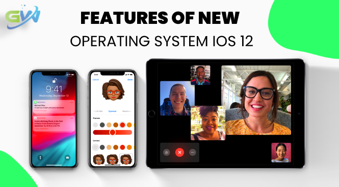 Features of New Operating System iOS 12