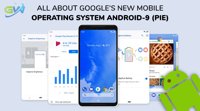 All about Google's New Mobile Operating System Android-9 (Pie)