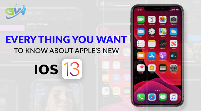 Every thing you want to know about Apple's new iOS-13