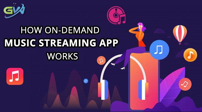 How On-Demand Music Streaming App Works