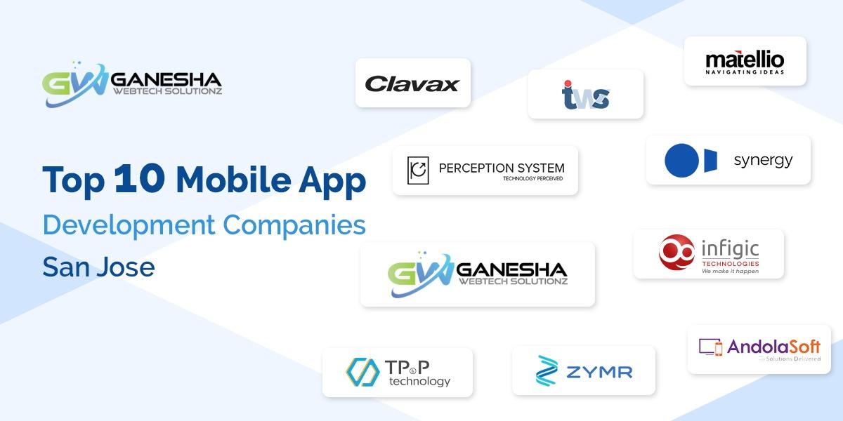 Top 10 mobile App Development companies San Jose