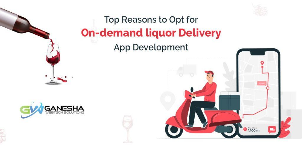 On-demand liquor Delivery App Development
