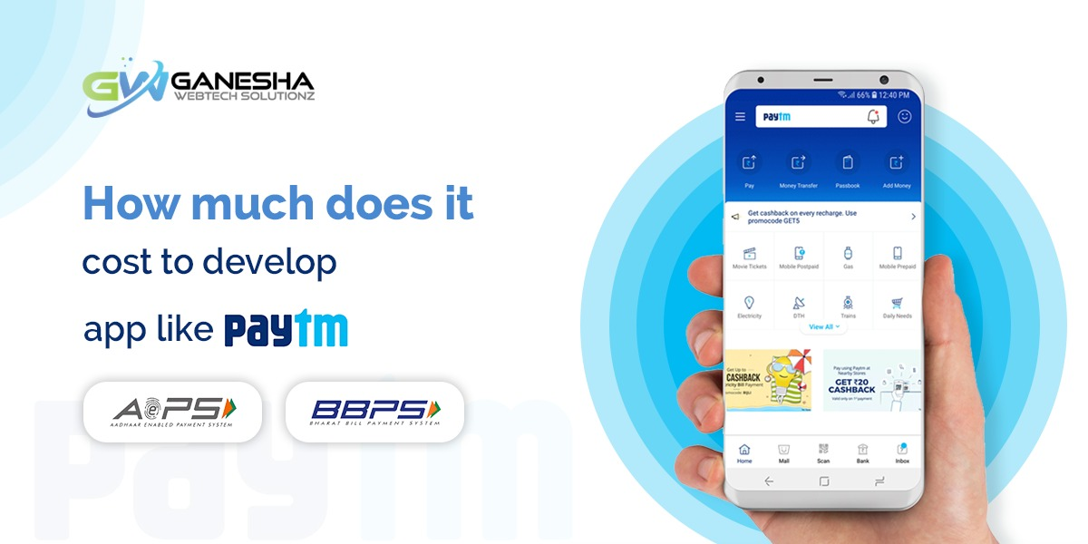 How much does it cost to develop an AEPS BBPS app like Paytm?