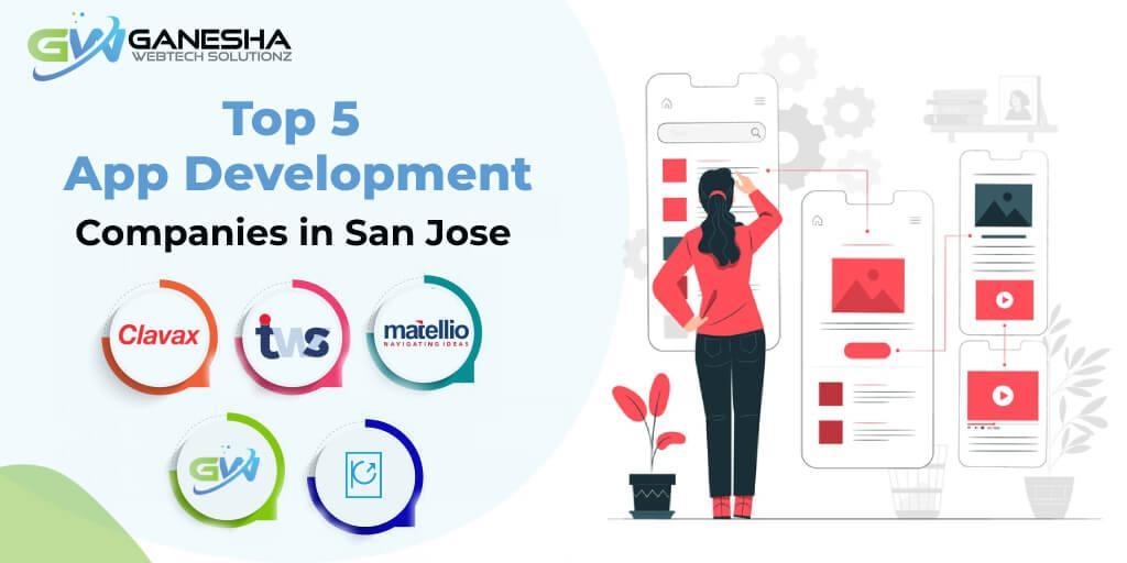 Top 5 App Development Companies in San Jose
